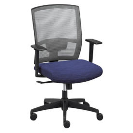 Ambient Executive Mid Back Chair with Memory Foam Seat, C80438