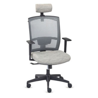 Ambient Mid Back Chair with Headrest and Hanger, C80439