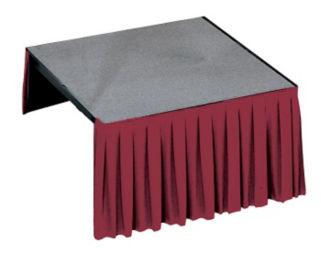 "Hardboard Platform -  3' x 8' x 32"", P60302"