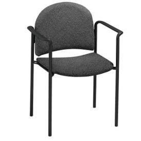 Heavy Duty Stack Chair with Arms, C67825