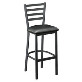 "Ladder Back 30""h Stool, D45177"