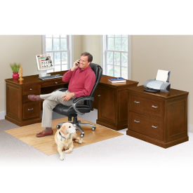 Statesman Compact Right L-Desk Set, D37535