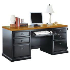 Credenza with CPU Storage Area, D35058