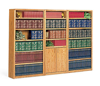 Library Wall Bookcase