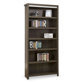 "78""H Six Shelf Open Bookcase, B30190"