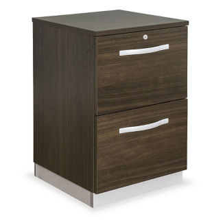 "18""W Two Drawer File Pedestal, L40020"