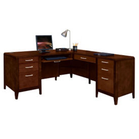 Lancaster L-Desk with Right Return, D35373