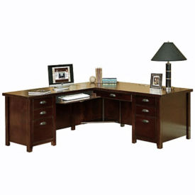 L-Desk with Left Return, D31167