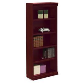 "Cumberland Five Shelf Bookcase - 72""H, B34681"