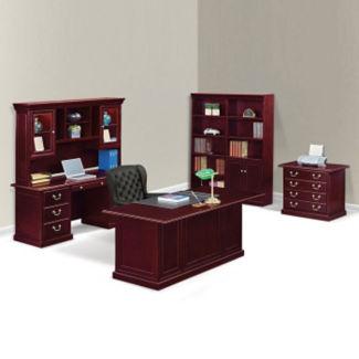 Cumberland Executive Desk Suite, D35638