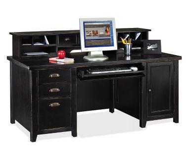 Computer Desk and Hutch Set, D35073