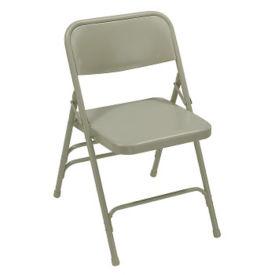 Triple Brace Steel Folding Chair, C50139