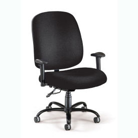 Big & Tall Ergonomic Task Chair with Arms, D50028S