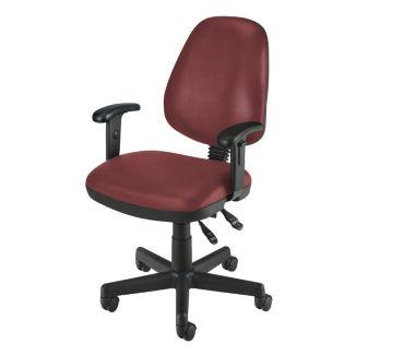 Mobile Vinyl Task Chair, C80045
