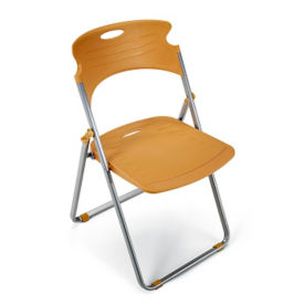 Folding Chair with Poly Seat and Back, C80106