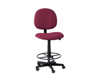 Fabric Drafting Stool, D50007