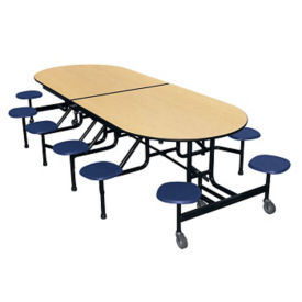 "Mobile 12 Seat Cafeteria Table - 29""H, K10037"