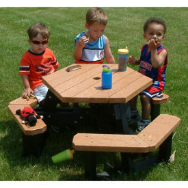 Child Size Hexagon Picnic Table, F10580