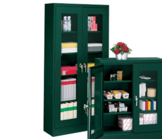 "Supply Cabinet-Clearview,78""H, B30375"
