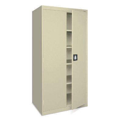 compare storage cabinet with locking handle b32158