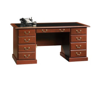 Heritage Hill Executive Desk with Inlay Top, T60010