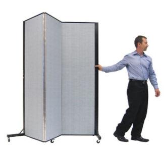 """Portable Room Divider - 5'9""""L x 6'5""""H, F40374"""