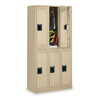 Double Tier Lockers 3 Wide, D23042