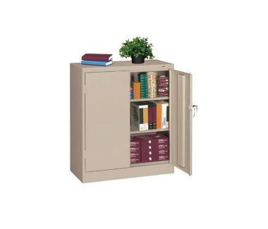 "Storage Cabinet Heavy Duty 42"" High x 24"" Deep, D31127"