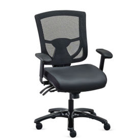 Polyurethane 24/7 Mesh Back Ergonomic Computer Chair , C80415