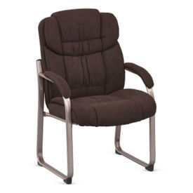 Morgan Fabric Sled Base Guest Chair, C80449