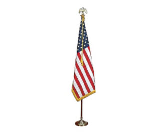 US Presentation Flag Set 4' x 6' Flag with 9' Pole, V20633