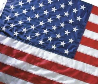 Koralex II US Flag 5x9-1/2, V20652