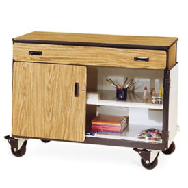 Mobile Teacher Storage Cabinet, B30401