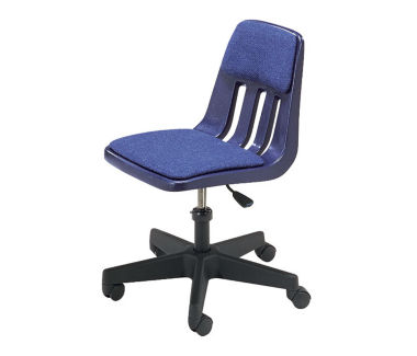 Mobile Task Chair with Black Frame, C70104