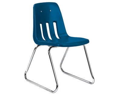 """Sled Base Stack Chair 12"""" High, C70186"""