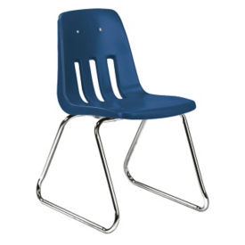 "Sled Base Stack Chair 16"" High, C70190"