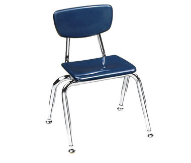 "Virco 3000 12"" Stack Chair for Pre K to Kindergarten, D57058"
