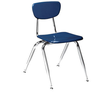 "Virco 3000 18"" Stack Chair for Fifth Grade and Up, D57061"