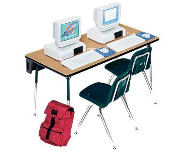 """Rectangular Computer Table 72"""" Wide x 30"""" Deep, D60074"""