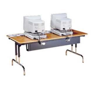 """Wire Management for 60"""" Trapezoid Table, V20235"""