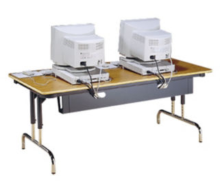 "Wire Management for 48"" Long Table, V20242"