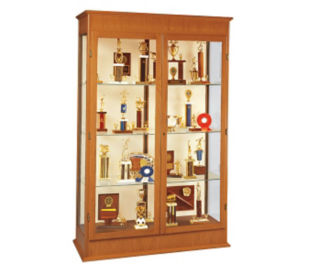 "Trophy Display Case 48"" Wide x 77"" High, D81001"