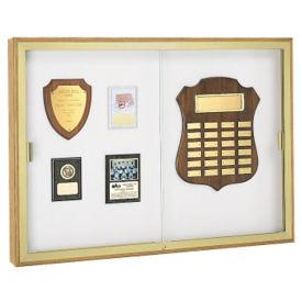 """Sliding Glass Door Display Case 48""""wx48""""h, D81019"""