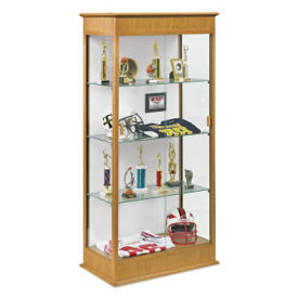 Display Case with Sliding Door, W60518