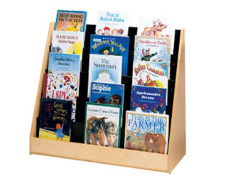 Double Sided Book Display Stand, D59009
