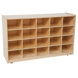 Cubbie Storage Cabinet with 20 Openings, P30088