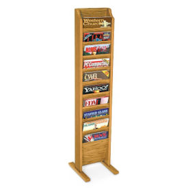 10 Pocket Literature Rack, L40290