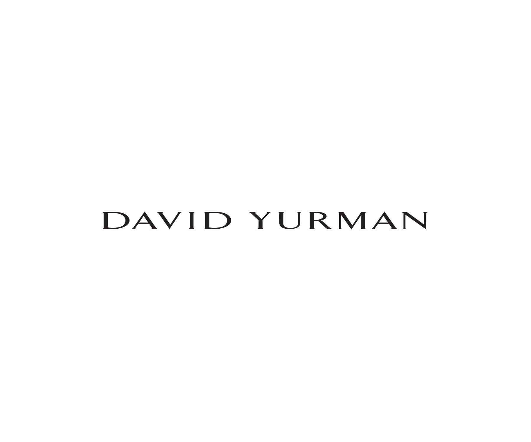 David Yurman Deco和Streamline袖扣,925纯银配黑玛瑙或彼得石材质,或18K金材质,在顶部光线照射下的带曲线纹理侧面的抛光白色石头表面。