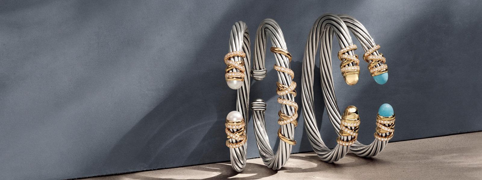Stackable Bracelets.