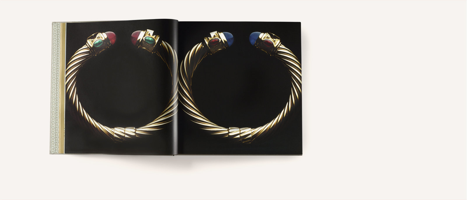 Photos of Renaissance cable gold bracelets in David Yurman Cable.
